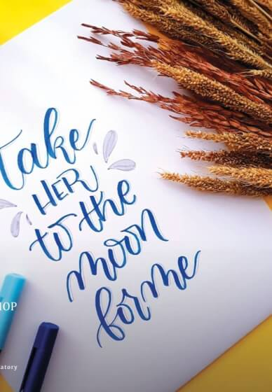 Brush Pen Modern Calligraphy