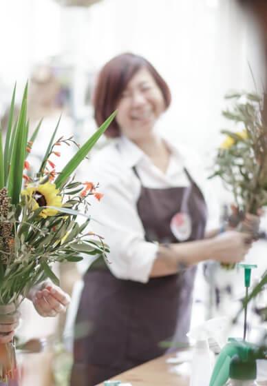 Flower Arranging Class - Simple Inspiration