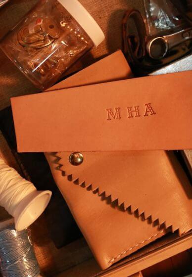 Make a Handmade Leather Diary Workshop